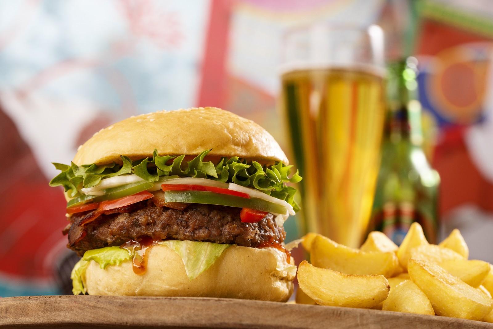 Blue Lagoon Burger
